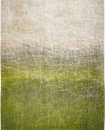 teppich Louis De Poortere LX 8882 Mad Men Fahrenheit Central Park Green