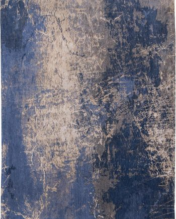 teppich Louis De Poortere LX8629 Mad Men Cracks Abyss Blue