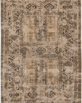 teppich Louis De Poortere LX8720 Antiquarian Antique Hadschlu Agha Old Gold