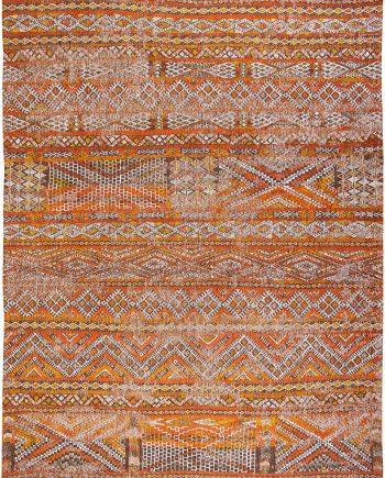 Louis De Poortere teppich CS 9111 Antiquarian Kilim Riad Orange