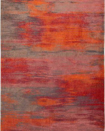 Louis De Poortere teppich CS 9116 Atlantic Monetti Hibiscus Red