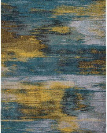 Louis De Poortere teppich CS 9119 Atlantic Monetti Nymphea Blue