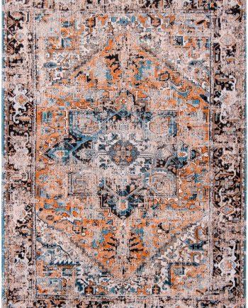 teppich Louis De Poortere LX 8705 Antiquarian Antique Heriz Seray Orange