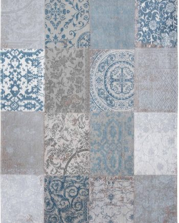 teppich Louis De Poortere LX 8981 Vintage Bruges Blue