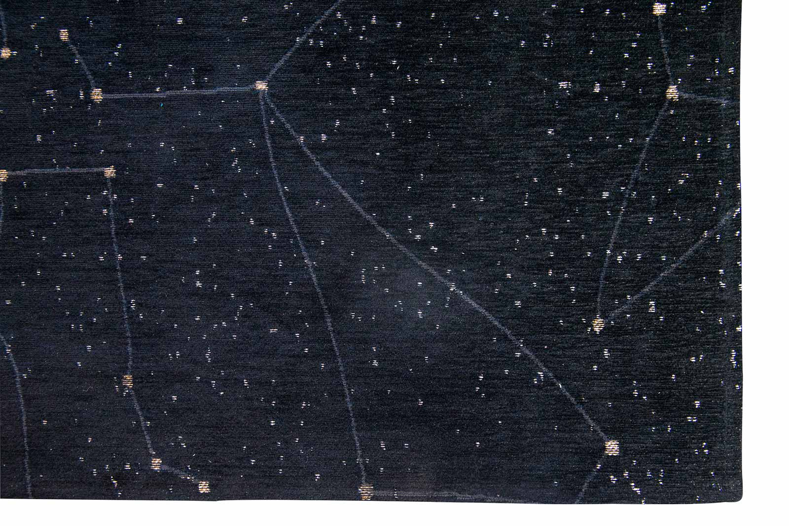 Louis De Poortere teppich Fischbacher 9059 Celestial Night Sky corner